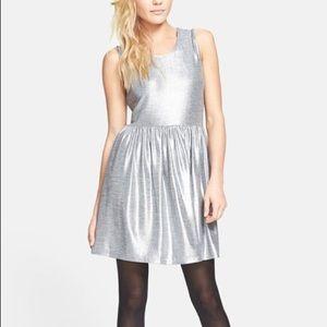 MINKPINK Blame it on the Boogie Silver Dress